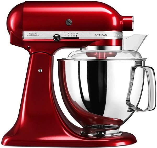 Kuchyňský robot KitchenAid Robot Artisan 125, královská červená