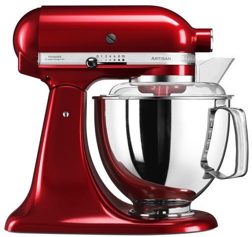 Kuchyňský robot KitchenAid Robot Artisan 175, červená metalíza