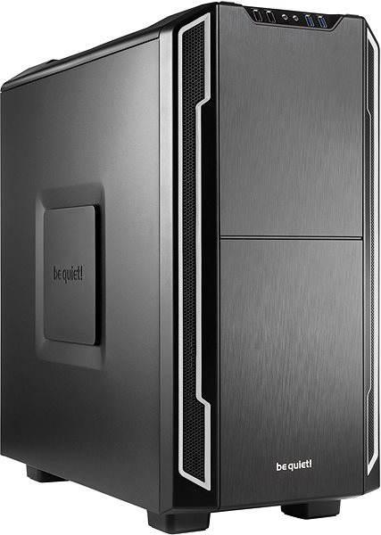 Počítačová skříň Be quiet! SILENT BASE 600 stříbrná