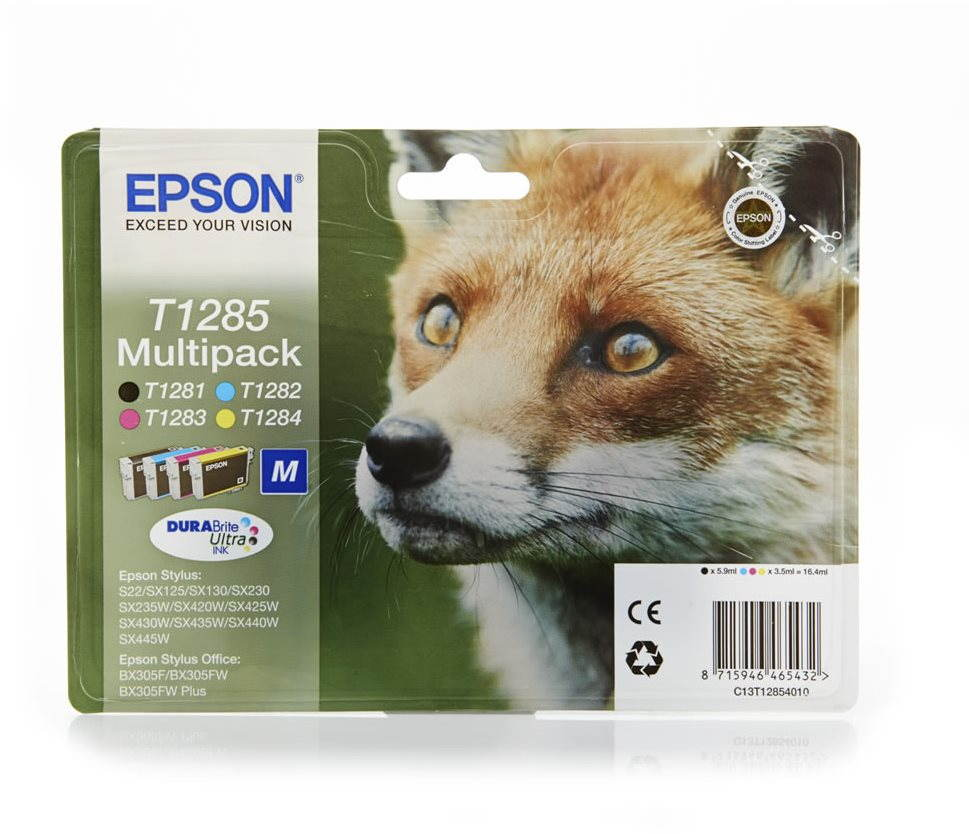 Cartridge Epson T1285 multipack