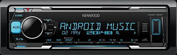 Autorádio KENWOOD KMM-123Y