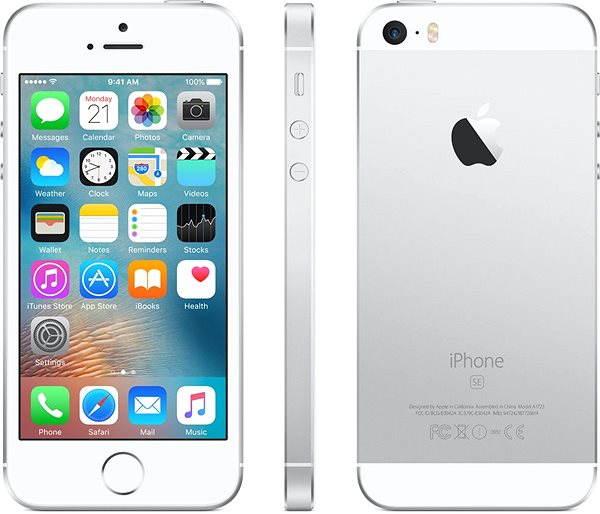 Mobilní telefon APPLE iPhone SE 128GB Stříbrný