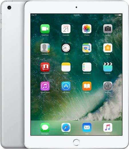Tablet APPLE iPad 128GB WiFi Stříbrný 2017