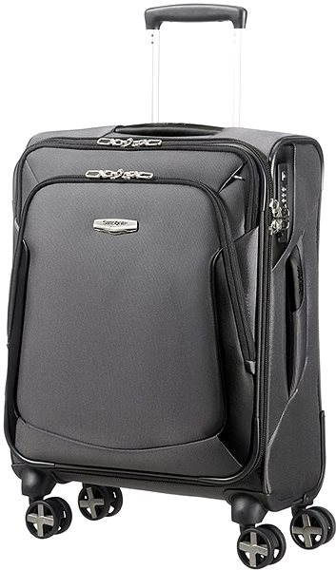 Cestovní kufr Samsonite X'BLADE 3.0 SPINNER 55/20 STRICT Grey/Black