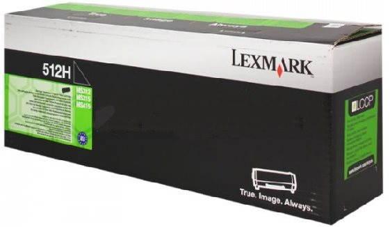 Toner LEXMARK 51F2H00 černý