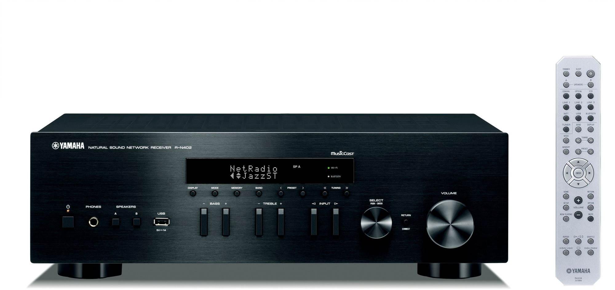 Stereo Receiver YAMAHA R-N402 (D) černý