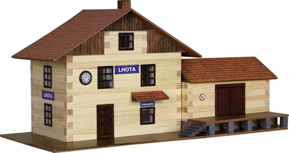 Stavebnice Walachia Vlakové nádraží