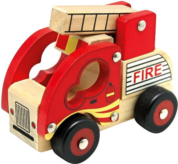 Auto Bino Dřevěné auto hasiči