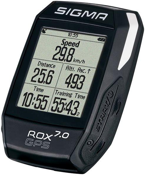 Cyklocomputer Sigma Rox 7.0 GPS černá