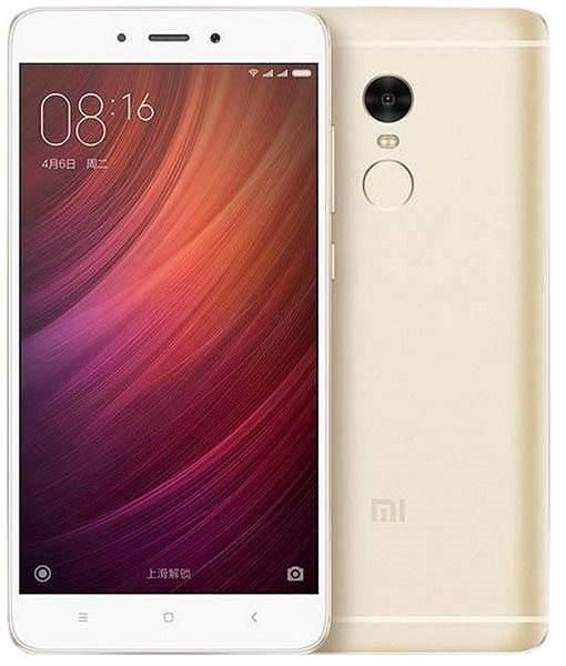 Mobilní telefon Xiaomi Redmi Note 4 LTE 32GB Gold