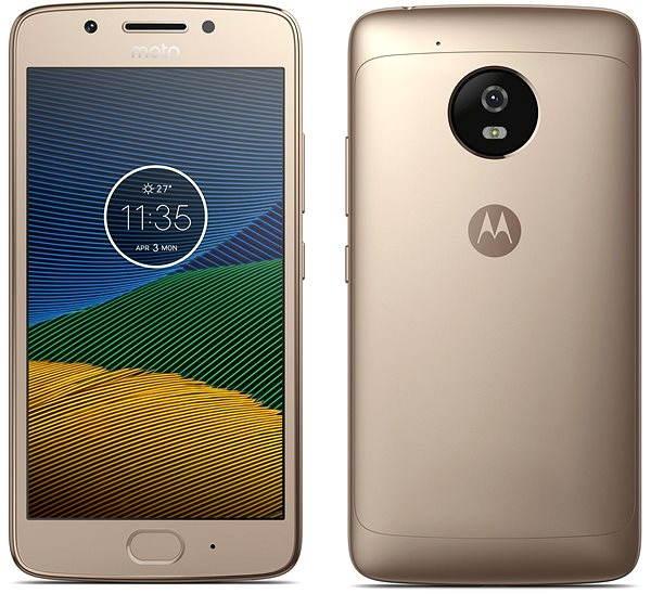 Mobilní telefon Lenovo Moto G 5.generace Gold
