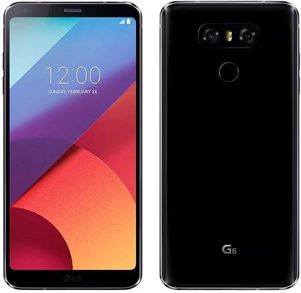 Mobilní telefon LG G6 Black