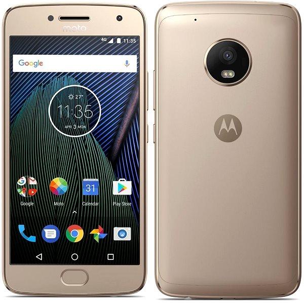 Mobilní telefon Lenovo Moto G Plus 5.generace Gold