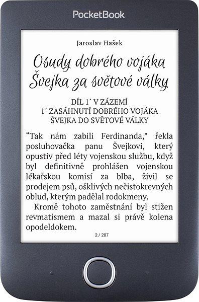 Elektronická čtečka knih PocketBook 614 (2) Basic 3 černý