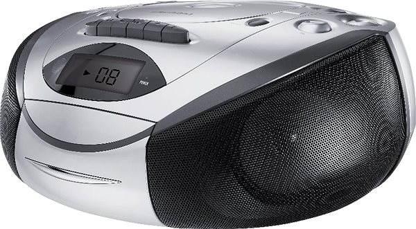 Radiomagnetofon GRUNDIG RRCD 3720 stříbrno-černý