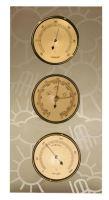 Meteostanice - sklo tmavé - počasí - 85 mm - S009