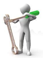 HW servis - kompletace PC, cablemanagement, otestování