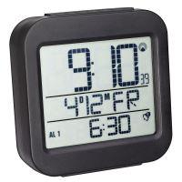 Digitální budík s hodinami řízenými DCF signálem TFA 60.2533.01 - černý