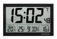 Nástěnné hodiny s vnitřní a vnější teplotou TFA 60.4510.01