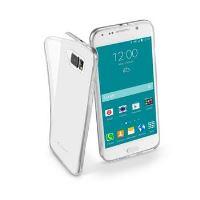 Extratenký zadní kryt CellularLine Fine pro Samsung Galaxy S6, bezbarvý