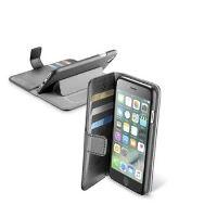 Pouzdro typu kniha CellularLine Book Agenda pro Apple iPhone 7/8, černé