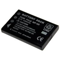 Baterie Extreme Energy typ Fuji NP-60, Li-Ion 1050 mAh, černá