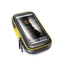 """Voděodolný držák CELLY FLEXBIKE pro 5"""" telefony a navigace k upevnění na řídítka,rozbaleno"""