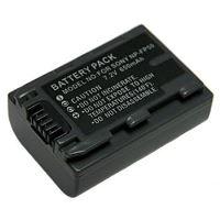 Baterie Extreme Energy typ Sony NP-FP50, Li-Ion 680 mAh, šedá