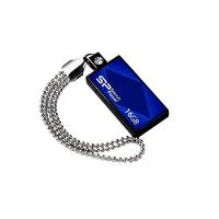 USB flash disk Silicon Power Drive Touch 810, 16GB, USB 2.0, modrý