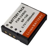 Baterie Extreme Energy typ Casio NP-130, Li-Ion 2000 mAh