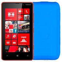 TPU pouzdro CELLY Gelskin pro Nokia Lumia 820, modré