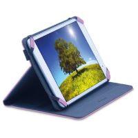 """Univerzální pouzdro CellularLine Vision pro tablety s úhlopříčkou od 7"""" do 8"""", růžové"""