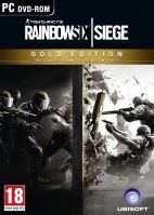 PC CD-Tom Clancy's Rainbow Six: Siege Gold Edition