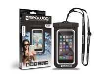 SEAWAG Voděodolné pouzdro pro telefon Černá/Bílá