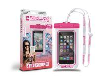 SEAWAG Voděodolné pouzdro pro telefon Bílá/Růžová