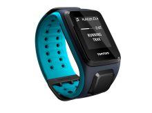 TomTom GPS hodinky Runner 2 Cardio + Music (L), modrá/modrá + bluetooth sluchátka