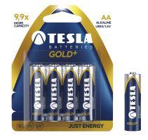 TESLA - baterie AA GOLD+, 4ks, LR06