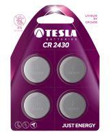 TESLA - baterie TESLA CR2430, 4ks, CR2430
