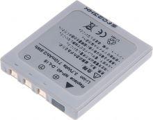 Baterie T6 power Fuji NP-40, Pentax D-Li8, Samsung SLB-0737, 700mAh, šedá