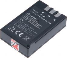 Baterie T6 power Fuji NP-140, 1100mAh, šedá