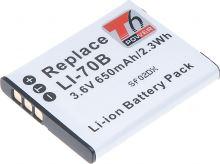 Baterie T6 power Olympus Li-70B, 600mAh, černá