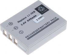 Baterie T6 power Olympus Li-30B, 645mAh, hnědá