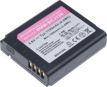 Baterie T6 power Panasonic DMW-BC13, DMW-BCJ13, 1100mAh, černá