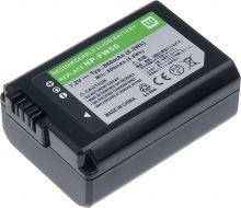 Baterie T6 power Sony NP-FW50, 1080mAh, černá