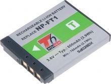 Baterie T6 power Sony NP-FT1, 800mAh, šedá