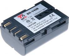Baterie T6 power JVC BN-V408, 1100mAh, šedá