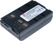 Baterie T6 power Panasonic HHR-V211/V212, Ni-MH, 2100mAh, černá