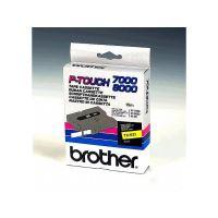 Brother kazeta TX-621 žlutá / černá, 9mm