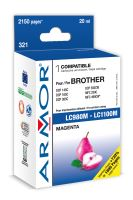 Armor ink-jet pro Brother DCP 145, (LC980/1100M)
