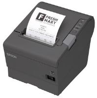 EPSON pokl.TM-T88V,tmavá,USB+ether.,zdroj, kabel